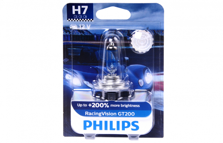 Blister H7 12v 55w Px26d Racingvision Gt200